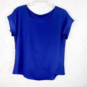 [F21] Lightweight Blue Shirt